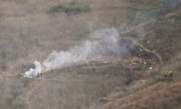 科比坠机细节:直升机撞山之前引擎爆炸 坠毁后燃起大火救援人员无法接近