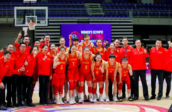 100:60复仇韩国!奥运资格赛中国女篮三连胜收官
