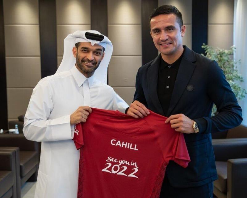 蒂姆·卡希尔成为卡塔尔世界杯官方大使