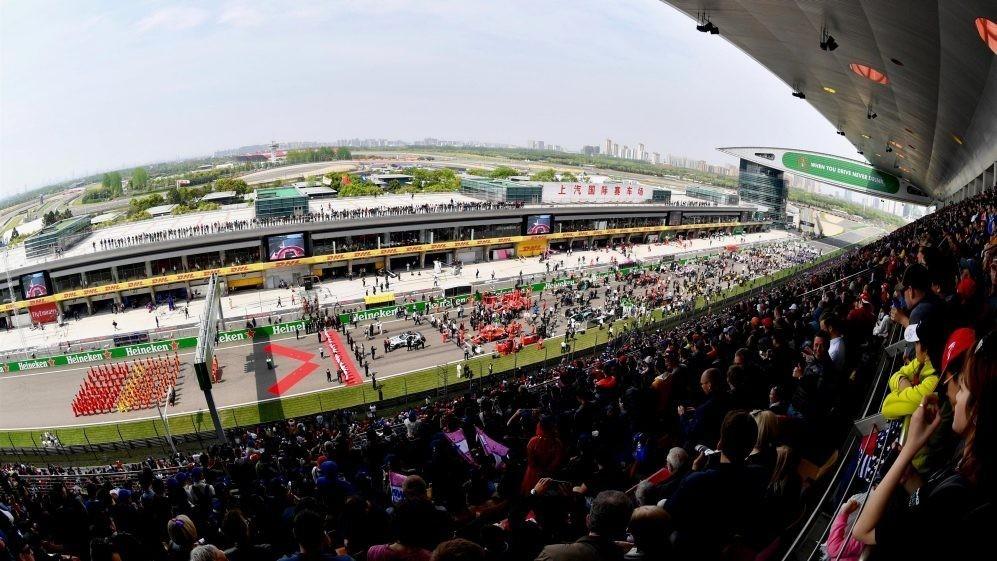 受疫情影响,F1中国大奖赛将延期举行