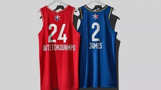 NBA全明星赛球衣将拍卖,所得善款将捐给曼巴基金