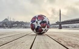 阿迪达斯公布欧冠淘汰赛比赛用球