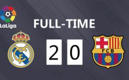 西班牙国家德比二番战 皇马2-0巴萨反超登顶
