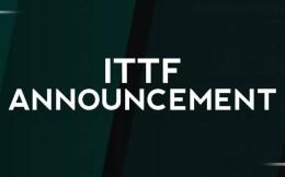 国际乒联官宣:暂停4月底之前的所有赛事活动