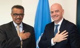 FIFA拍摄防疫宣传片 向世卫组织提供1000万美元