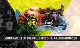 ESL One洛杉矶站改为线上进行 总奖金37.5万美元