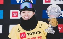 蔡雪桐第6次获得单板滑雪技巧类项目世界杯总冠军
