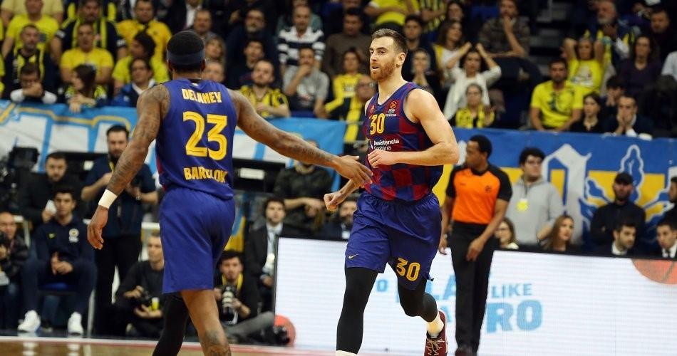 巴塞罗那篮球一线队接受俱乐部降薪协议