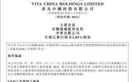 非凡中国售出李宁7000万股