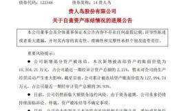 贵人鸟被冻结1.05亿元房产土地资产  冻结资产已超总资产的1/4