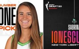 约内斯库当选WNBA新科状元 合同为4年30万美元