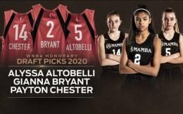 温情!WNBA用荣誉选秀权选中吉安娜·布莱恩特等三名球员