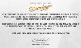 受疫情影响,2020赛季德鲁联赛正式取消