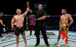 宋亚东UFC六战不败,追平亚洲选手纪录
