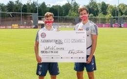 拜仁向35支巴伐利亚当地球队捐款35万欧元