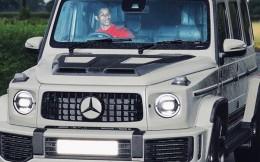 无愧豪车收割机!拉什福德15万英镑定制款奔驰大G闪耀卡灵顿基地