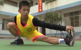 广东独臂篮球少年张家城正式注册成为运动员