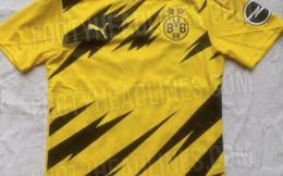 多特蒙德2020/21赛季主场球衣曝光 黄黑配色似神奇宝贝电击兽