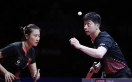 马龙丁宁为国际乒联