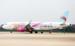 首架杭州亚运会彩绘飞机亮相 助力杭州亚运会品牌推广