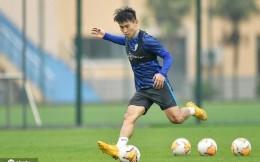 于汉超跟随申花训练,将在下赛季加盟