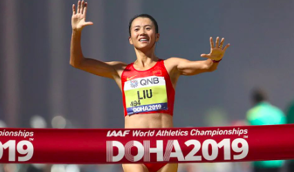 竞走奥运冠军刘虹签约CAA中国,正积极备战东京奥运会