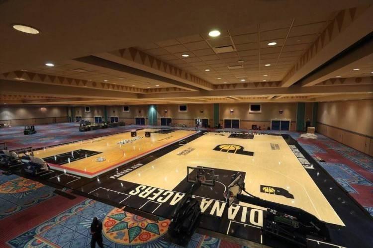 NBA复赛前对抗赛或将有电视转播 具体事项目前仍在运作