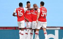 阿森纳2-0击败曼城 第21次闯入足总杯决赛