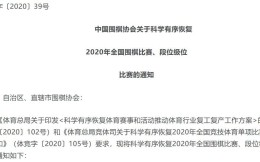 中国围棋协会:有序恢复全国围棋比赛