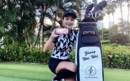 腾讯光子工作室群签约中国女子高尔夫职业冠军球员张维维