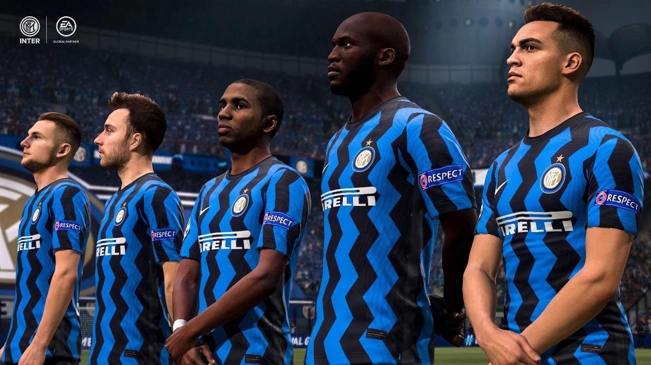 国际米兰与EA展开独家合作,8月19日上演球员FIFA虚拟赛场首秀