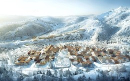 北京冬奥会延庆冬奥村样板段亮相 明年8月达到赛事接待条件