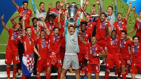 拜仁拿下队史第6座欧冠冠军