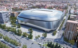 伯纳乌翻新工程有望2022夏完工 预计每赛季为皇马带来额外1.5亿欧收入