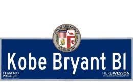 """致敬!洛杉矶一街道改名为""""科比·布莱恩特大道"""""""