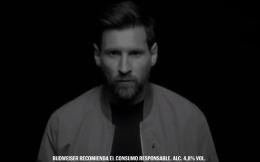百威啤酒发布梅西最新广告 广告词耐人寻味