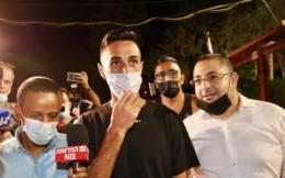 富力外援扎哈维因举行派对扰民妨碍警方执法被捕