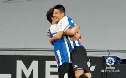 武磊传射建功,西班牙人3-0大胜阿尔巴塞特喜获开门红