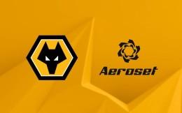 新伙伴!Aeroset成为狼队新赛季球衣袖口赞助商