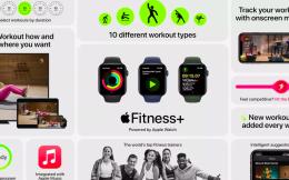 苹果推出Fitness+健身订阅服务 专为Apple Watch量身打造