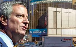 纽约市长称麦迪逊广场花园等体育场馆应该多交税