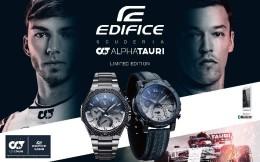 卡西欧发布Scuderia AlphaTauri车队合作款腕表