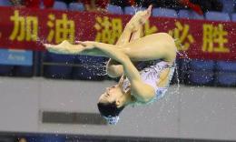 全国花游锦标赛成为疫情后首个在武汉举办的全国性体育赛事