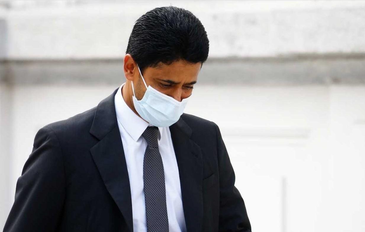 队报:大巴黎主席纳赛尔因涉嫌行贿将面临28个月监禁