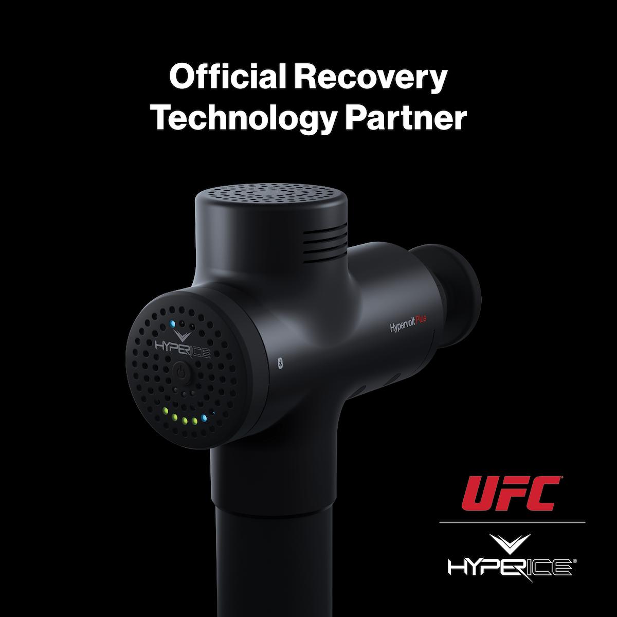 Hyperice成为UFC官方训练恢复科技合作伙伴