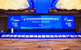 2020世界体育名城发展峰会暨南京市体育产业大会开幕 创新、融合、发展 激发南京体育产业发展新动能