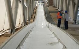 国家雪车雪橇中心9月底制冰完成 国家队将入驻训练