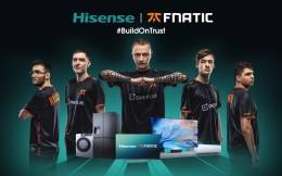 海信联手欧洲电竞豪门Fnatic 持续开拓电竞营销