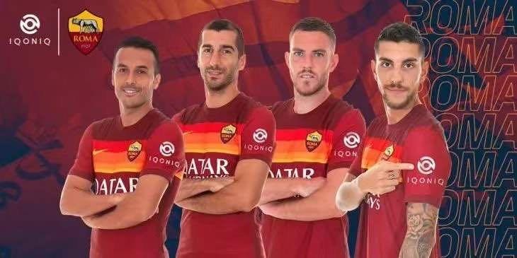 球迷互动平台Iqoniq与罗马签约三年 成为俱乐部衣袖赞助商