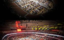 方舱医院变回体育场!7500人的姚基金慈善赛见证大武汉归来